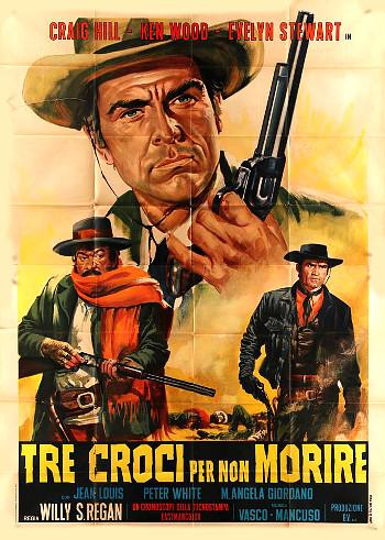 Three Crosses Not to Die (1968) poster