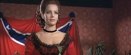 Agata Flori as Lt. Donovan in They Call Me Hallelujah (1971)