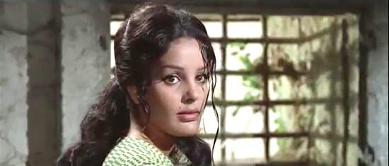 Agata Flori as Rosita Carson in Seven Guns for the MacGregors (1967