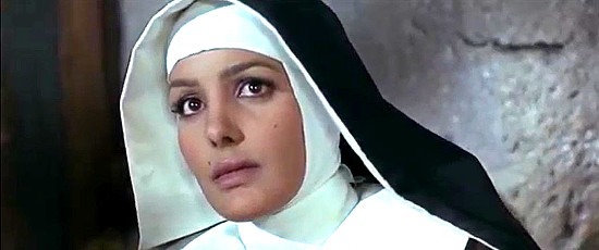 Agata Flori as Sister Anna Lee in They Call Me Hallelujah (1971)
