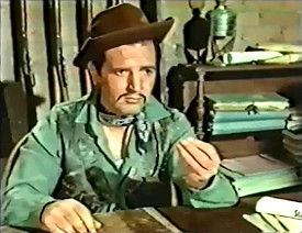 Andre Scotti as Sheriff Forbey in Starblack (1966)