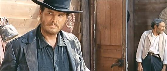 Dino Strano as Johnny, Don Alvarado's man, in Don't Wait, Django, Shoot! (1967)