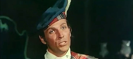 Lincoln Tate as Archie, the Scotsman in The Return of Hallelujah (1972)