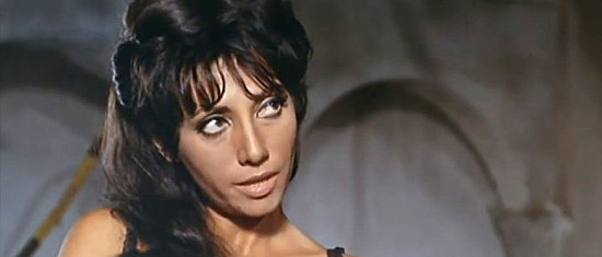 Marisa Traversi as Judy, Fred Grey's girl, in Don't Wait, Django, Shoot! (1967)