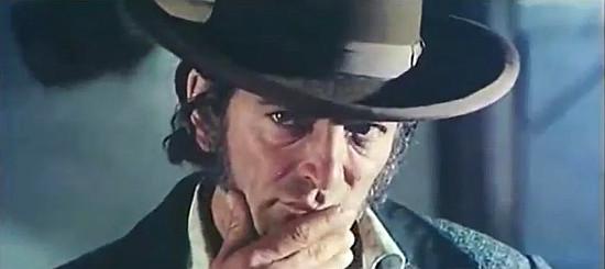 Paolo Gozlino as Drake, Ferguson's henchman, in The Return of Hallelujah (1972)