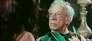 Raymond Bussieres as Sam, the pawn shop owner in The Return of Hallelujah (1972)