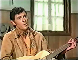 Robert Woods as Johnny Blythe in Starblack (1966)