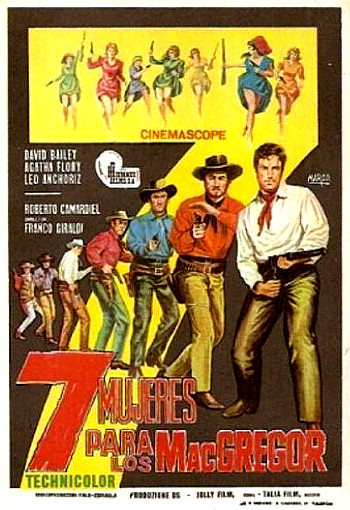Seven Women for the MaGregors (1967) poster