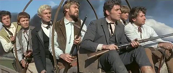 The seven MacGregor lads in Seven Guns for the MacGregors (1967)