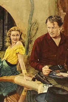 """Virginia Mayo and Joel McCrea meet a tragic end in this 1949 Western directed by Raoul Walsh and based on his 1941 film, """"High Sierra."""" Answer"""