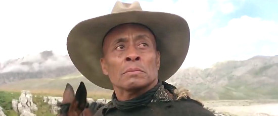 Woody Strode as George in Keoma (1976) | Once Upon a Time in a Western